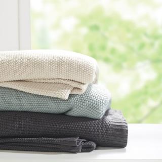INK+IVY Bree Knit Blanket 3-Color Option (As Is Item)