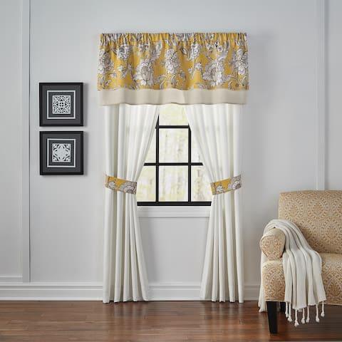 Croscill Kassandra 84-inch Rod Pocket Curtain Panel Pair