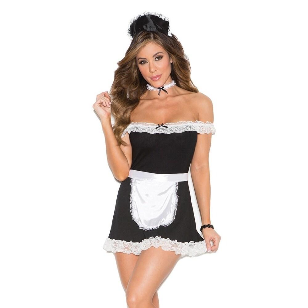 Elegant Moments 4-piece Maid Costume