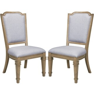 Vintage 18th Century French Neoclassic Design Dining Chairs (Set of 2)