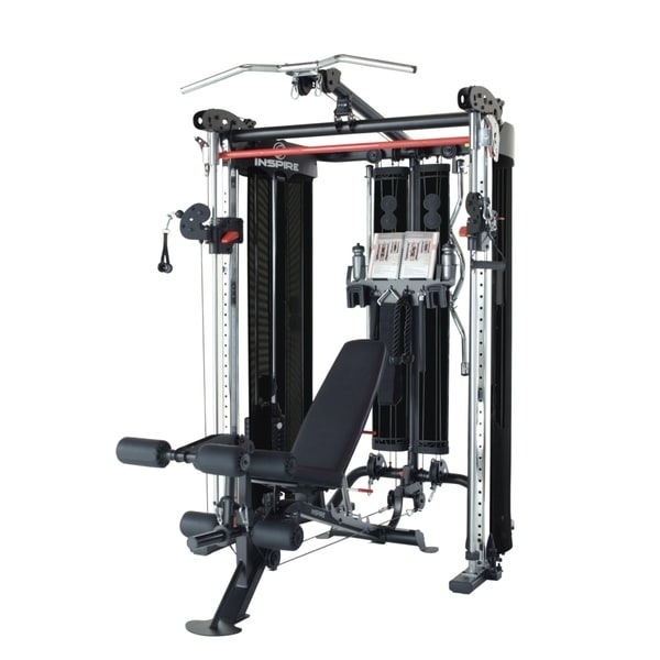 Shop inspire fitness ft2 functional trainer and smith station fully