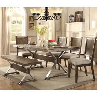 Wine Barrel Industrial Design Dining Set