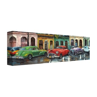 Portfolio Canvas Décor Cuban Colors I Panel I by Emily Williams Wrapped Canvas Wall Art