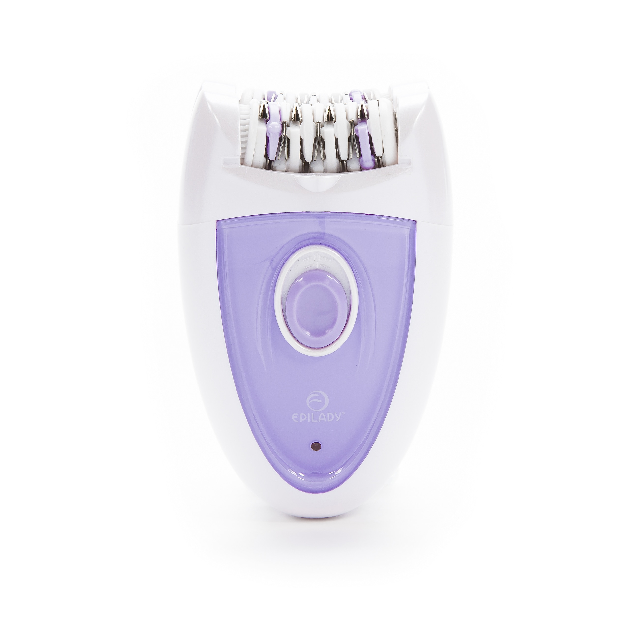 Epilady Duo Dual Headed Rechargeable Epilator (Duo Rechargeable), Purple/White