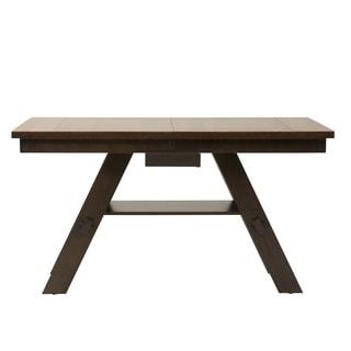 Espresso Light and Dark 40x78 Gathering Table
