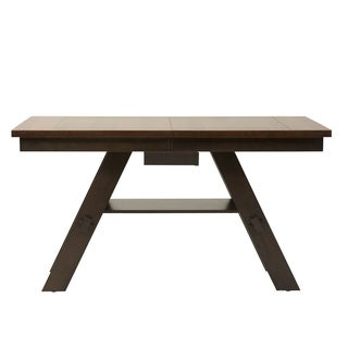 Espresso Light and Dark 40x78 Gathering Table