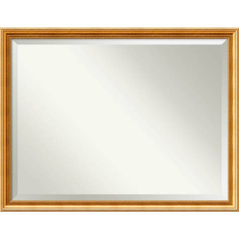 Wall Mirror Oversize Large, Townhouse Gold 44 x 34-inch - oversize large - 44 x 34-inch