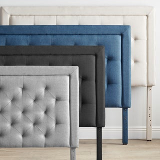 Link to BROOKSIDE Upholstered Headboard with Diamond Tufting Similar Items in Bedroom Furniture