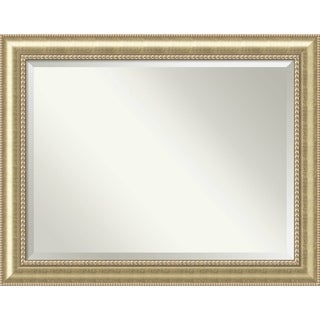 Bathroom Mirror Oversize Large, Astoria Champagne 47 x 37-inch