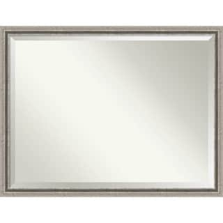 Bathroom Mirror Oversize Large, Bel Volto Silver 43 x 33-inch - 33 x 43 x 1.462 inches deep