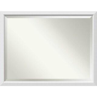 Bathroom Mirror Oversize Large, Blanco White 44 x 34-inch - 34 x 44 x 0.963 inches deep