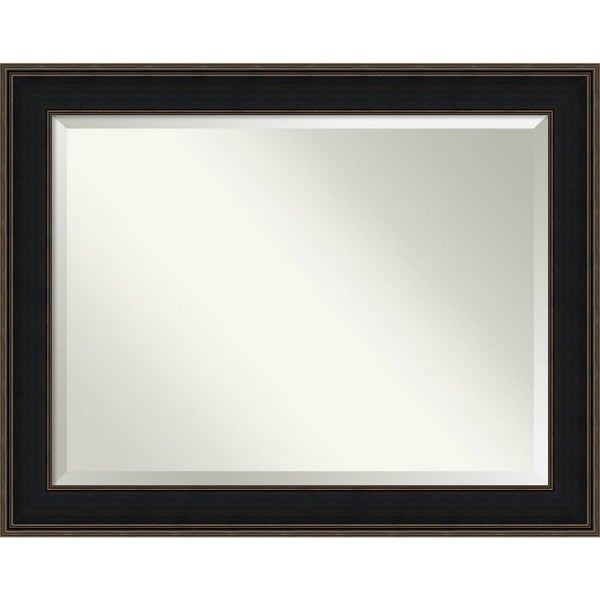 Shop Bathroom Mirror Oversize Large Mezzanine Espresso 48