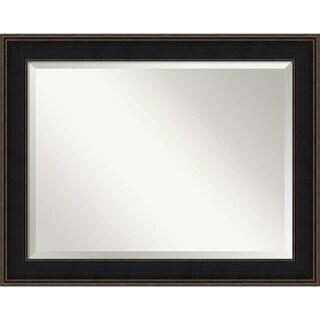 Bathroom Mirror Oversize Large, Mezzanine Espresso 48 x 38-inch