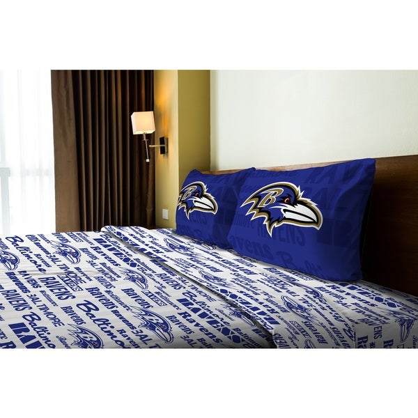 NFL 821 Ravens Full Sheet Set Anthem