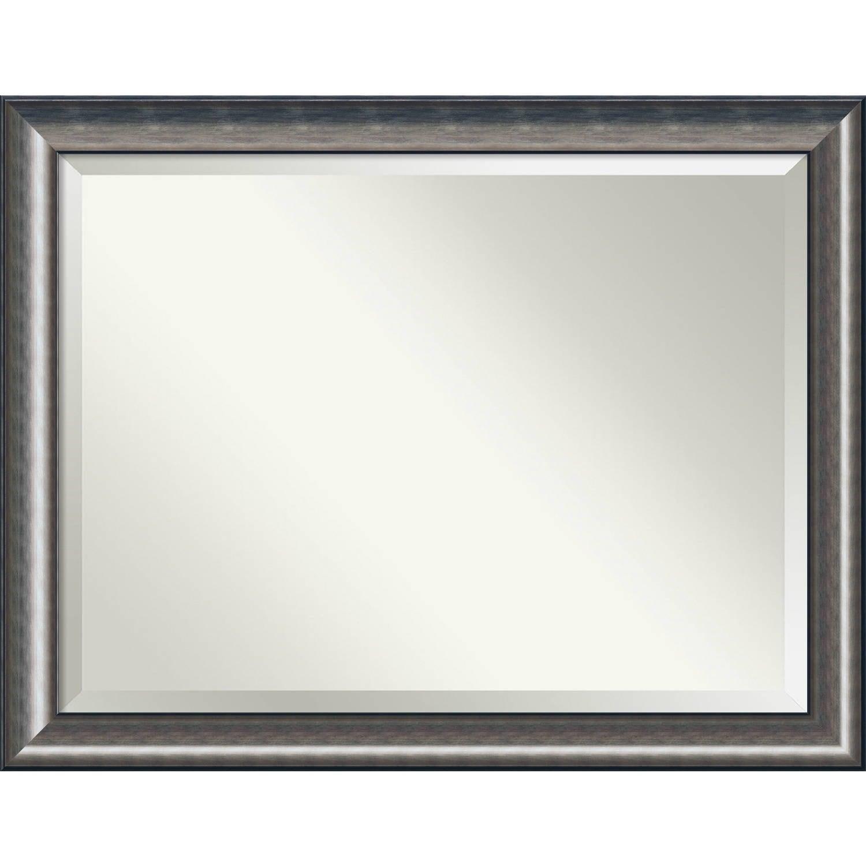 Shop Bathroom Mirror Oversize Large Quicksilver Scoop 46 X 36