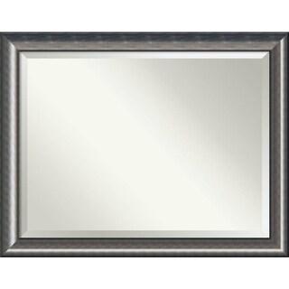 Bathroom Mirror Oversize Large, Quicksilver Scoop 46 x 36-inch