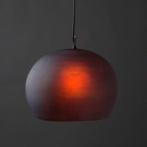 Aura Pendant Large Charcoal Light