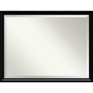 Bathroom Mirror Oversize Large, Steinway Black 43 x 33-inch - 33 x 43 x 0.971 inches deep
