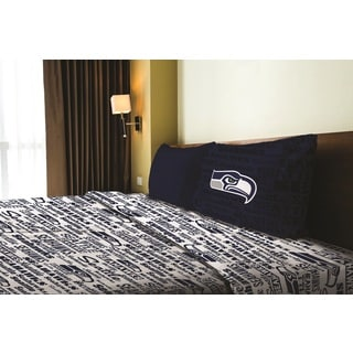 NFL 820 Seahawks Twin Sheet Set Anthem