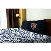NFL 820 Bears Twin Sheet Set Anthem