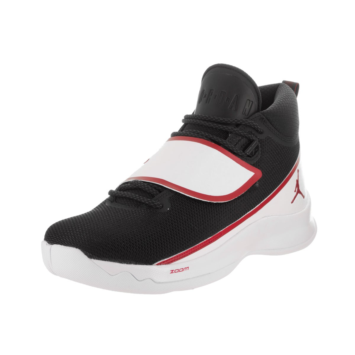 f9dbf1cf1bc0 Details about Nike Jordan Men s Jordan Super.Fly 5 PO Black Basketball Shoe