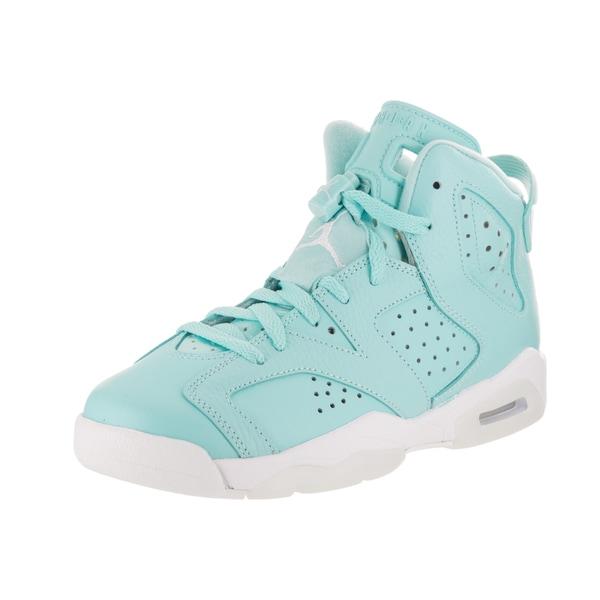 afab1109eef4a Shop Nike Jordan Kids Air Jordan 6 Retro GG Basketball Shoe - Free ...