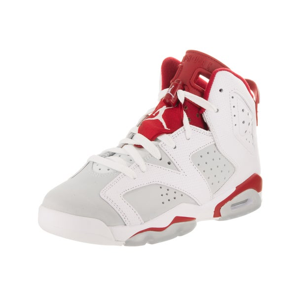 057bf5d32b365 Shop Nike Jordan Kids Air Jordan 6 Retro BG Basketball Shoe - Free ...