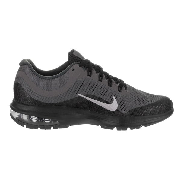 NIKE AIR MAX DYNASTY 2GS YOUTH RUNNING BLACK//GRAY//SILVER