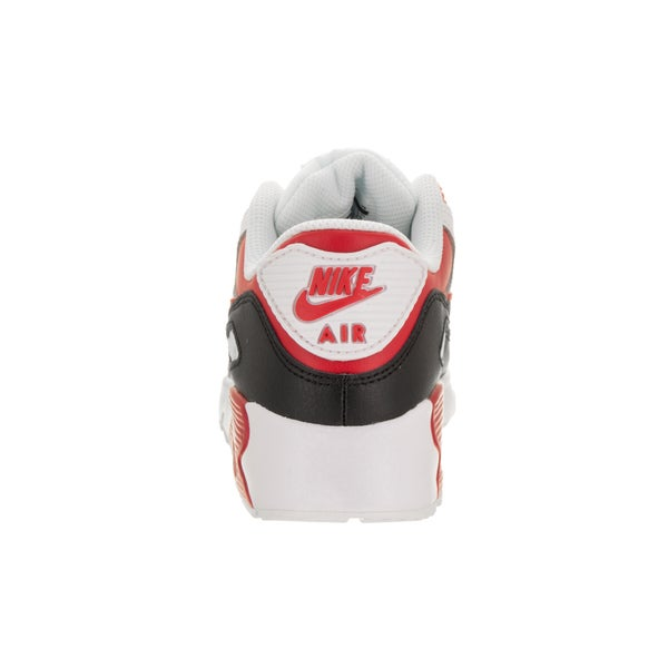 PS White//University Red-BLack 833414-107 Toddler Size/'s Nike Air Max 90 LTR