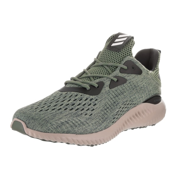 1fb594b2d762 ... Adidas Menx27s Alphabounce EM Green Running Shoes ...