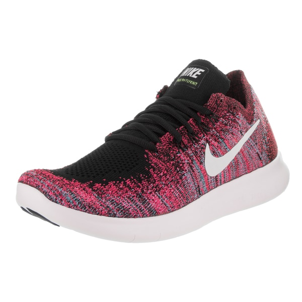 Free RN Flyknit 2017 Pink Synthetic