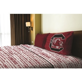 Bon COL 820 South Carolina Twin Sheet Set Anthem