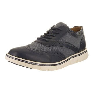 Tommy Hilfiger Men's Faro Dark Blue Synthetic Leather Casual Shoes