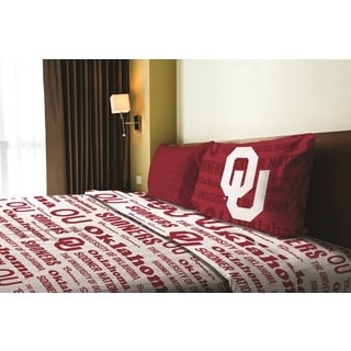 COL 820 Oklahoma Twin Sheet Set Anthem