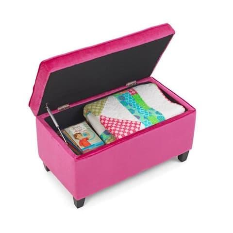 Zooey Girls Pink Bench