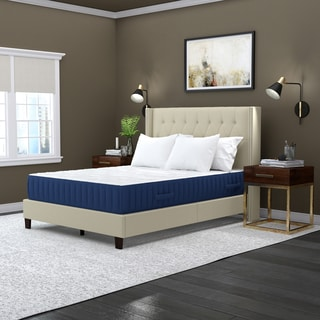 Handy Living Memory Foam and Double Layer Coil 12-inch Queen-size Mattress