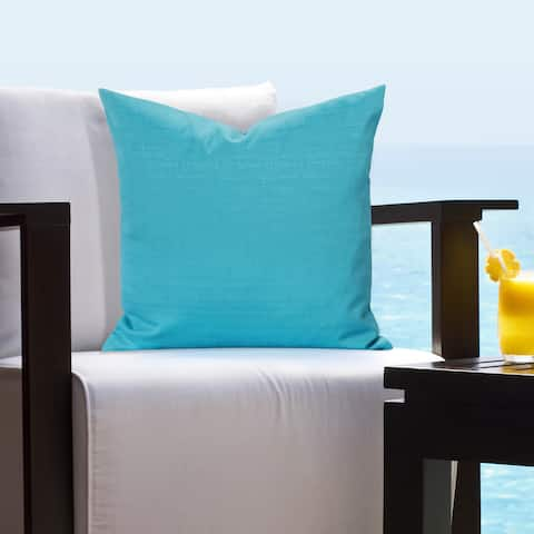Siscovers Indoor - Outdoor Tropical Tone Accent Pillows
