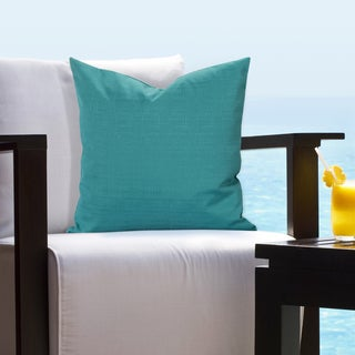 Siscovers Indoor - Outdoor Tropical Turquoise Accent Pillows