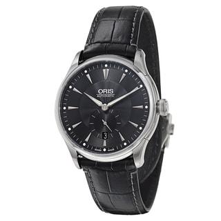 Oris Men's Artelier Stainless Steel Black Swiss Mechanical Automatic Watch
