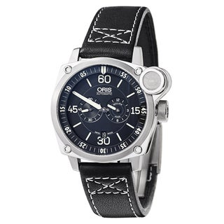 Oris Men's BC4 BC4 Der Meisterflieger Stainless Steel Black Swiss Mechanical Automatic Watch