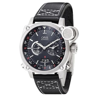 Oris Men's BC4 BC4 Flight Timer Stainless Steel Black Swiss Mechanical Automatic Watch|https://ak1.ostkcdn.com/images/products/15617127/P22050566.jpg?impolicy=medium