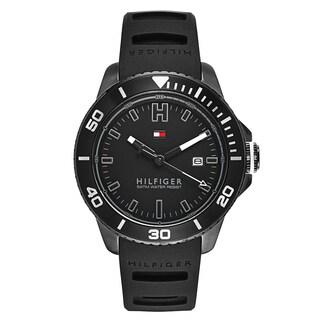 Tommy Hilfiger Men's Wade Black Stainless Steel Black Japanese Swiss Quartz Watch