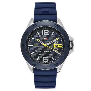 Tommy Hilfiger Men's Cody Stainless Steel Black Japanese Swiss Quartz Watch