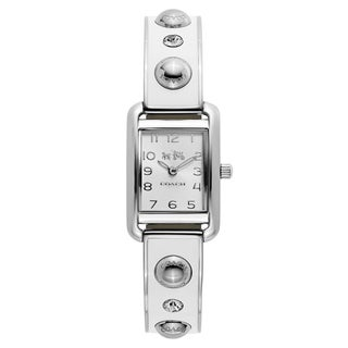 Coach Women's Thompson Stainless Steel Silver Tone Japanese Swiss Quartz Watch