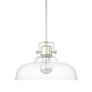 Capital Lighting Signature Collection 1-light Polished Nickel Pendant