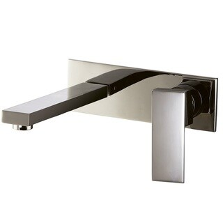 Dawn Brushed Nickel Wall Mounted Single-lever Concealed Washbasin Mixer