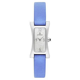 Eterna Women's Sahida White Mother-of-Pearl Quartz Watch