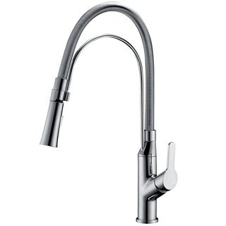 Dawn Chrome Single-lever Pullout Kitchen Faucet