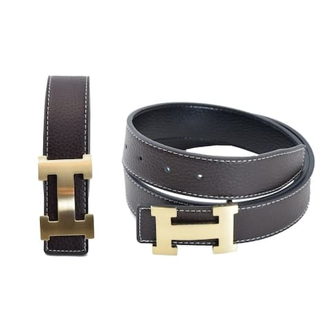 17091f49b9b8 Buy Brown Men's Belts Online at Overstock   Our Best Belts Deals