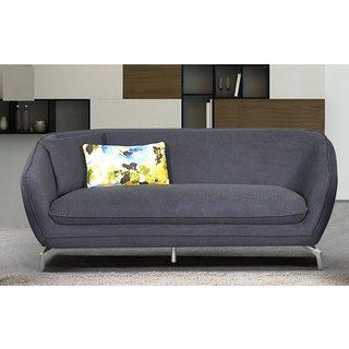 Modern Metropolitan Linen Fabric Upholstery Sofa